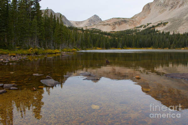 Photograph - Autumn At Brainard Lake And The Indian Peaks by Steve Krull