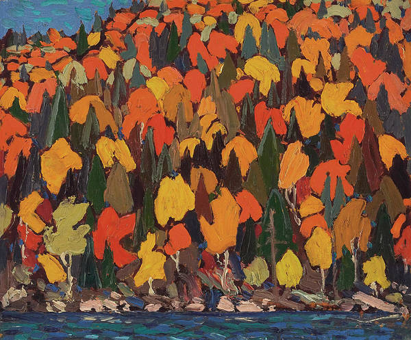 Painting - Autumn Foliage by Tom Thomson