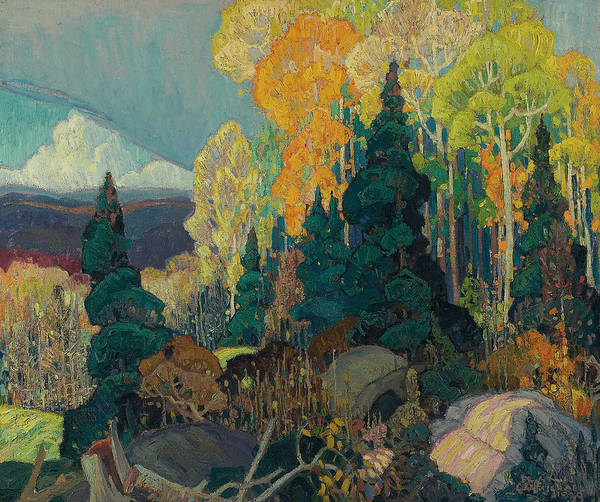 Painting - Autumn Hillside by Franklin Carmichael