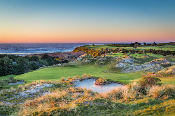 Linked Photograph - Bandon Preserve Hole 5 by Mike Centioli