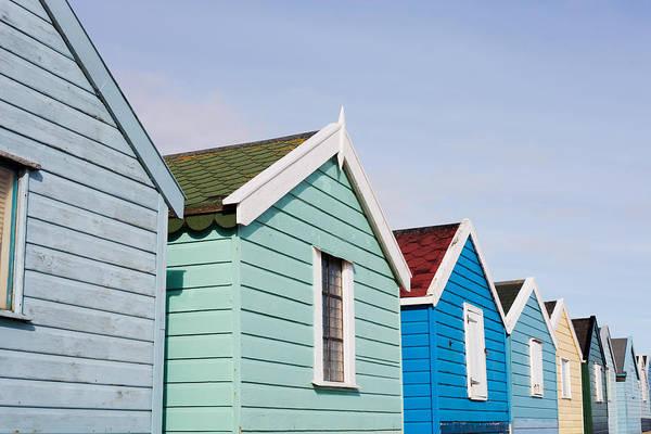Pattern Wall Art - Photograph - Beach Huts by Tom Gowanlock