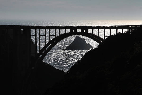 Photograph - Bixby Creek Bridge Big Sur Photo By Pat Hathaway by California Views Archives Mr Pat Hathaway Archives