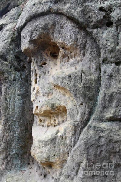 Tourism Wall Art - Photograph - Bizarre Stone Heads - Rock Sculptures by Michal Boubin