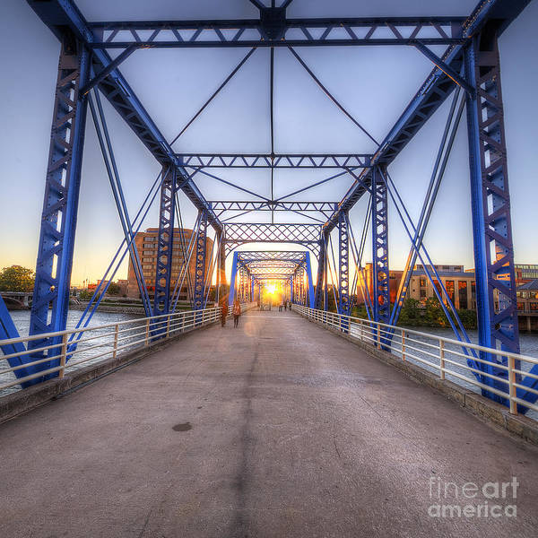 Wall Art - Photograph - Blue Bridge by Twenty Two North Photography