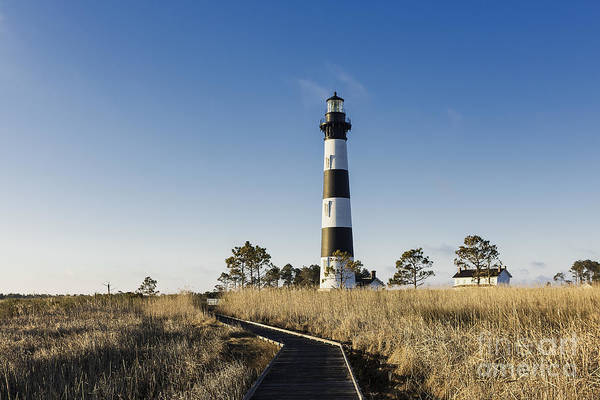 Roanoke Island Wall Art - Photograph - Bodie Island Lighthouse by John Greim
