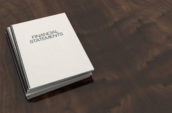 Statement Wall Art - Digital Art - Bound Booklet Pile by Allan Swart