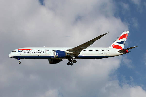 Britain Photograph - British Airways Boeing 787-9 Dreamliner by Smart Aviation