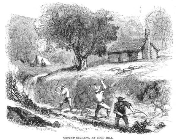 Photograph - California Gold Rush, 1860 by Granger
