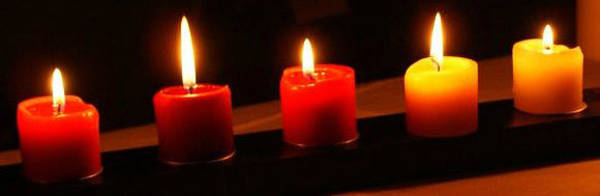 Photograph - 5 Candles Photo by Julia Woodman