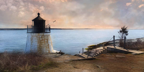 Photograph - Castle Hill Light by Robin-Lee Vieira