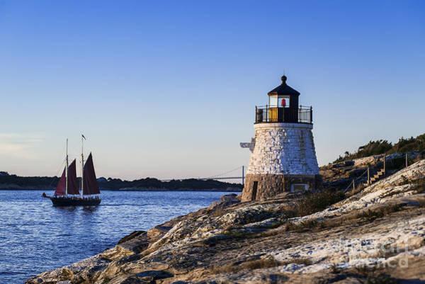 Narragansett Photograph - Castle Hill Lighthouse by John Greim