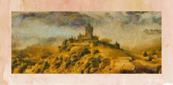 Fortification Wall Art - Painting - Castles by Pierre Blanchard