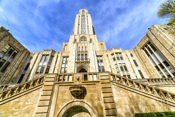 Photograph - Cathedral Of Learning by Thomas R Fletcher