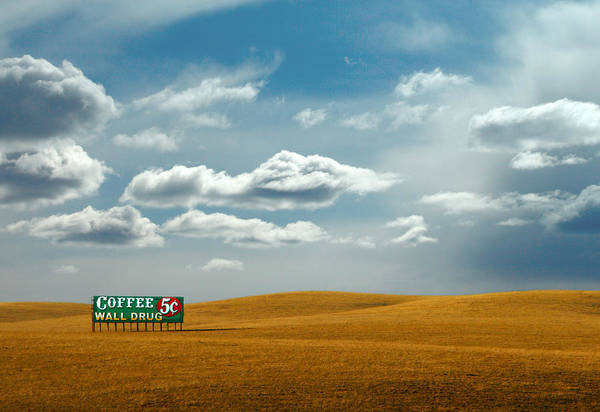 Interstate 5 Wall Art - Photograph - 5 Cent Coffee by Todd Klassy