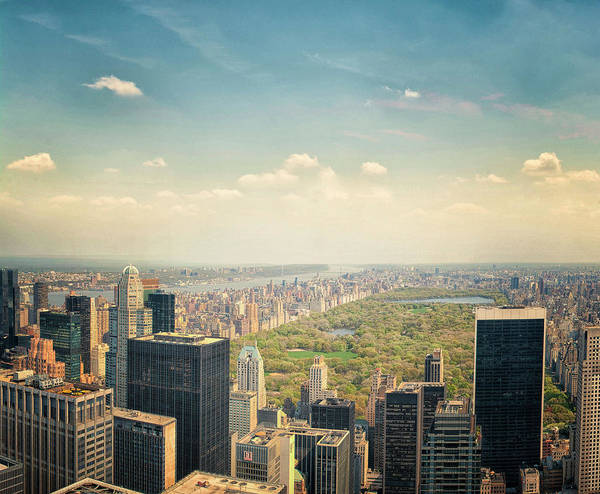 Park Avenue Wall Art - Photograph - Central Park by Martin Newman