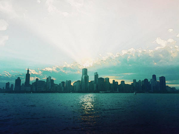 Photograph - Chicago by Artistic Panda
