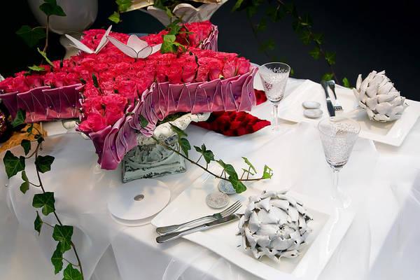 Photograph - Christmas Table by Ariadna De Raadt