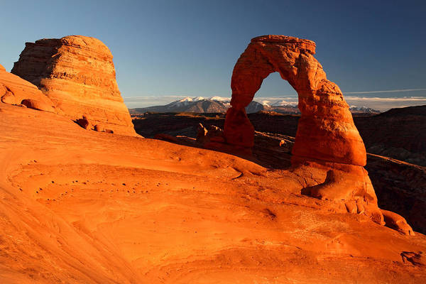 Photograph - Delicate Arch In Arches National Park by Pierre Leclerc Photography