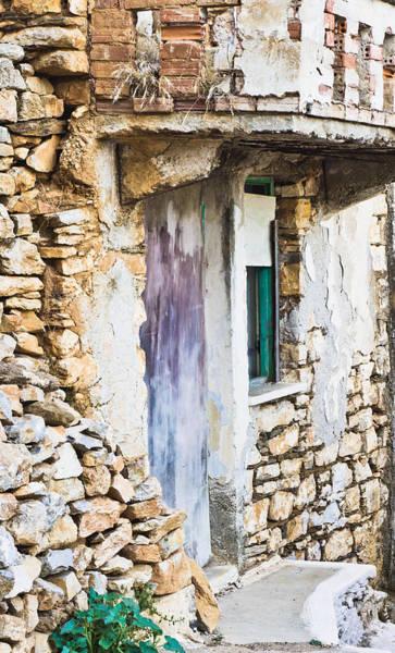 Bannister Wall Art - Photograph - Derelict House by Tom Gowanlock