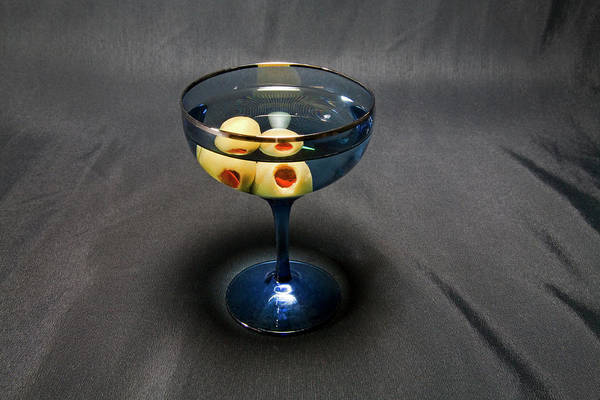 Wall Art - Photograph - Dry Martini by Buddy Mays