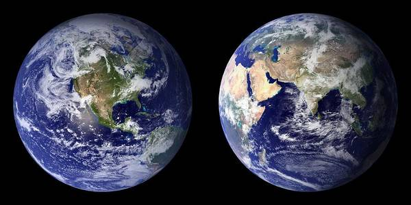 Photograph - Earth by Artistic Panda
