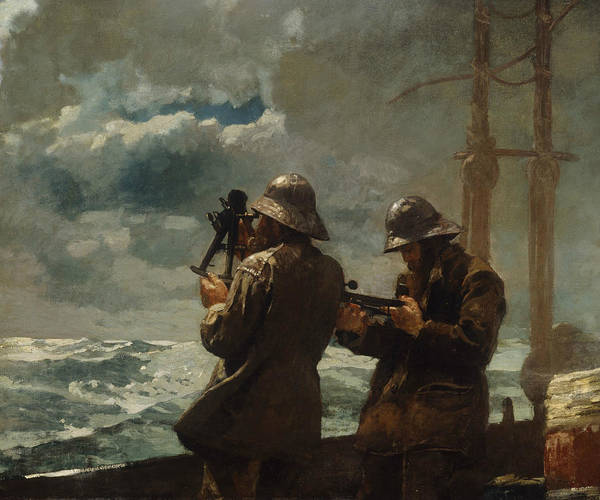 Bells Painting - Eight Bells by Winslow Homer