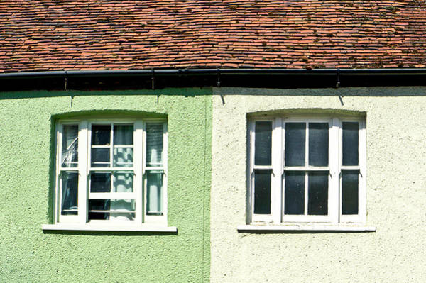 Gutter Photograph - English Houses by Tom Gowanlock