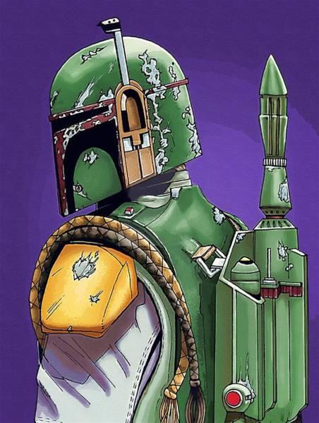 Star Wars Episode 3 Wall Art - Digital Art - Episode 1 Star Wars Poster by Larry Jones