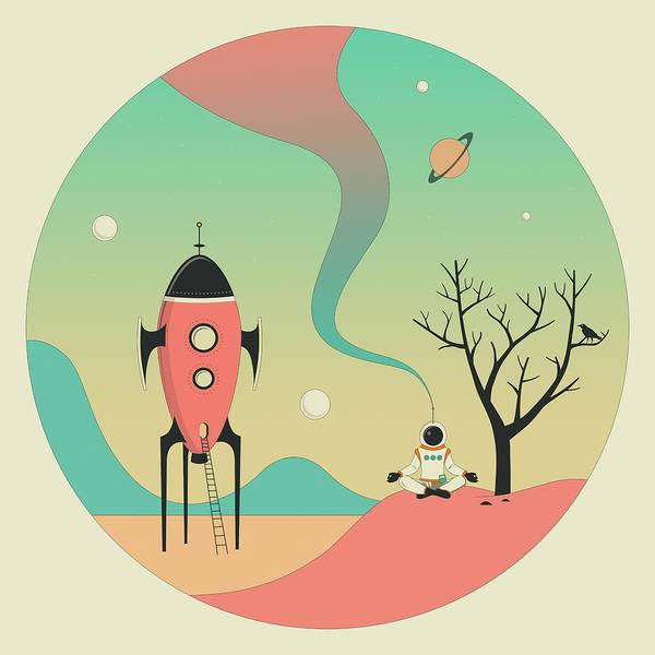 Sci-fi Digital Art - Explore by Jazzberry Blue