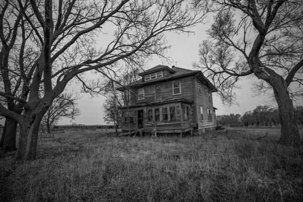 Abandoned House Wall Art - Photograph - Forgotten  by Aaron J Groen