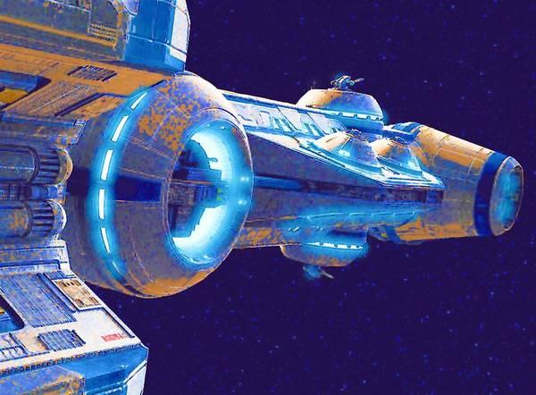 Star Wars Episode 3 Wall Art - Digital Art - Galaxies Star Wars Art by Larry Jones