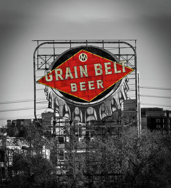 Wall Art - Photograph - Grain Belt Beer by Mountain Dreams