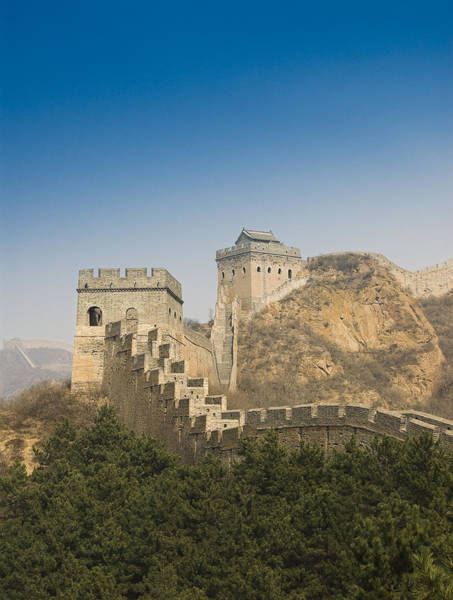Gloria Photograph - Great Wall Of China - Jinshanling by Gloria & Richard Maschmeyer - Printscapes