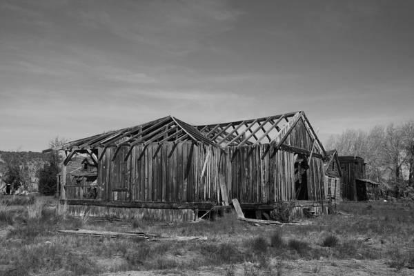 Photograph - Gunsmoke Movie Set by Mark Smith