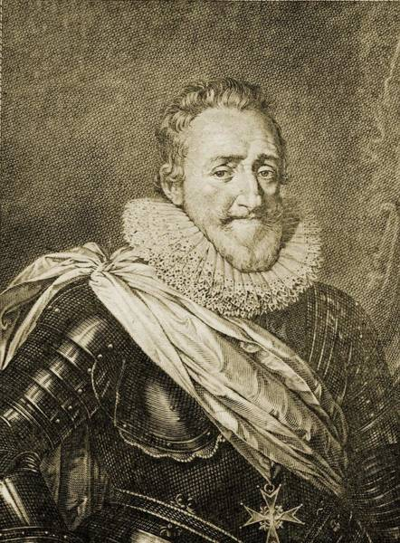 Wall Art - Drawing - Henry Iv Aka Henry Of Navarre Or by Vintage Design Pics