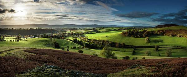 Church Stretton Photograph - Hope Bowdler Landascape by Nigel Forster
