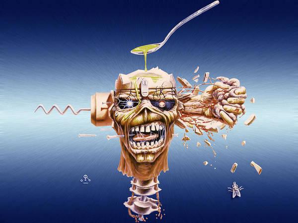 Iron Maiden Wall Art - Digital Art - Iron Maiden by Mery Moon