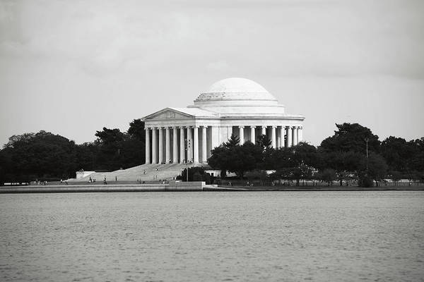 Photograph - Jefferson Memorial In Washington Dc by Brandon Bourdages