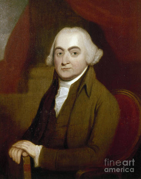 Photograph - John Adams (1735-1826) by Granger