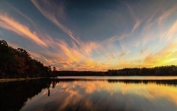 Photograph - Lake Sunset by Mike Dunn