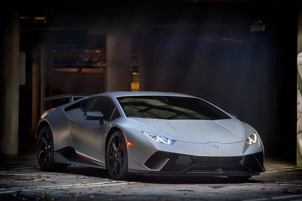 Photograph - #lamborghini #huracan #performante #print by ItzKirb Photography