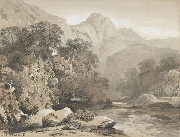 Relief - Landscape by Alexandre Calame