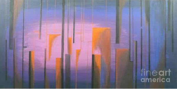 Rain Song Painting - Landscape by Leonardo Da Vinci