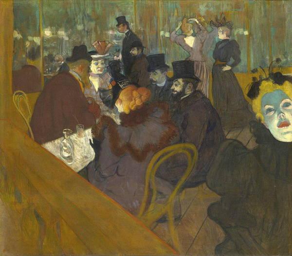 Confident Painting - Lautrec  by Henri De Toulouse