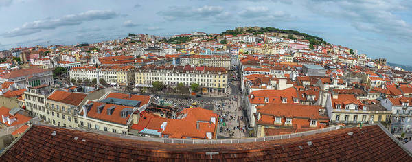 Lisbon Castle Photograph - Lisbon View by Carlos Caetano