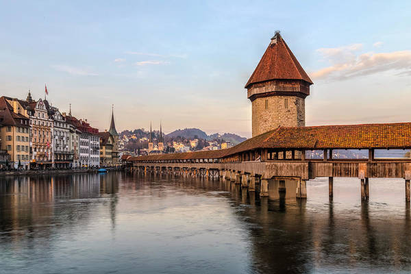 Wall Art - Photograph - Lucerne - Switzerland by Joana Kruse