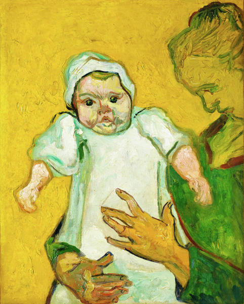 Painting - Madame Roulin And Her Baby by Vincent van Gogh