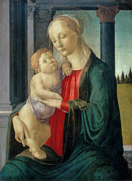 Painting - Madonna And Child by Sandro Botticelli