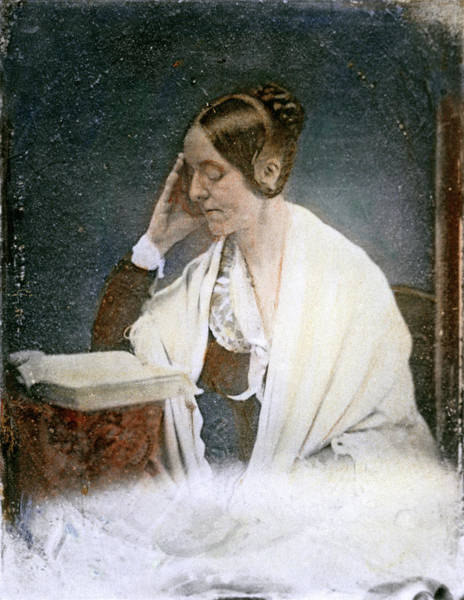 Drawing - Margaret Fuller, 1810-1850 by Granger