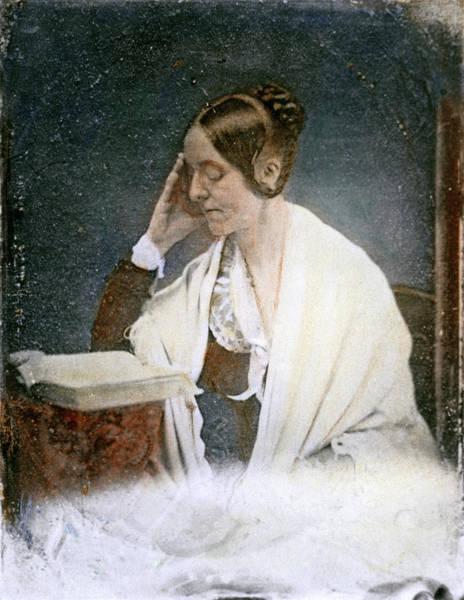 Drawing - Margaret Fuller, 1810-1850 by Granger